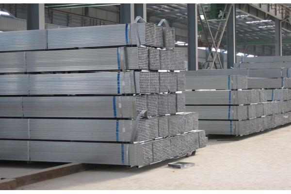 ASTM A500 Gr. B Galvanized Hollow Section Square Tube 50mmx50mm