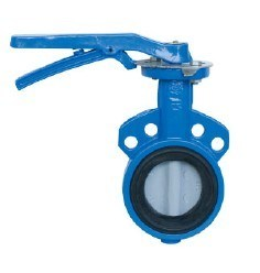 Epoxy Coating Wafer Butterfly Valve (D71X)