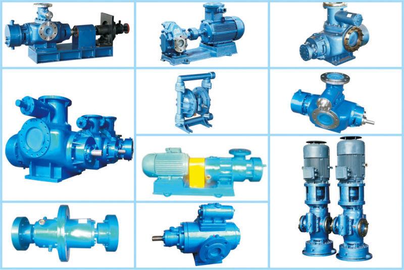 Marine China Reliable Twin Screw Pump Fuel Oil Pump