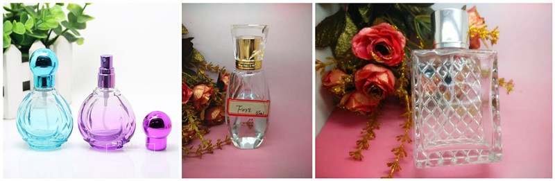 Fashion Cute Body Shape Glass Perfume Bottles, Cosmetic Jar for Fragrance Oil