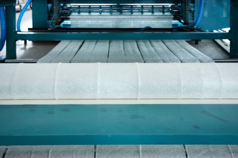 E-Glass Fiberglass Stitch Mat 1100GSM Used in Laminates