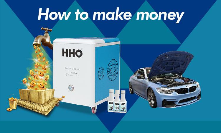 Hho Carbon Emission Removal Engine Decarboniser Machine for Sale