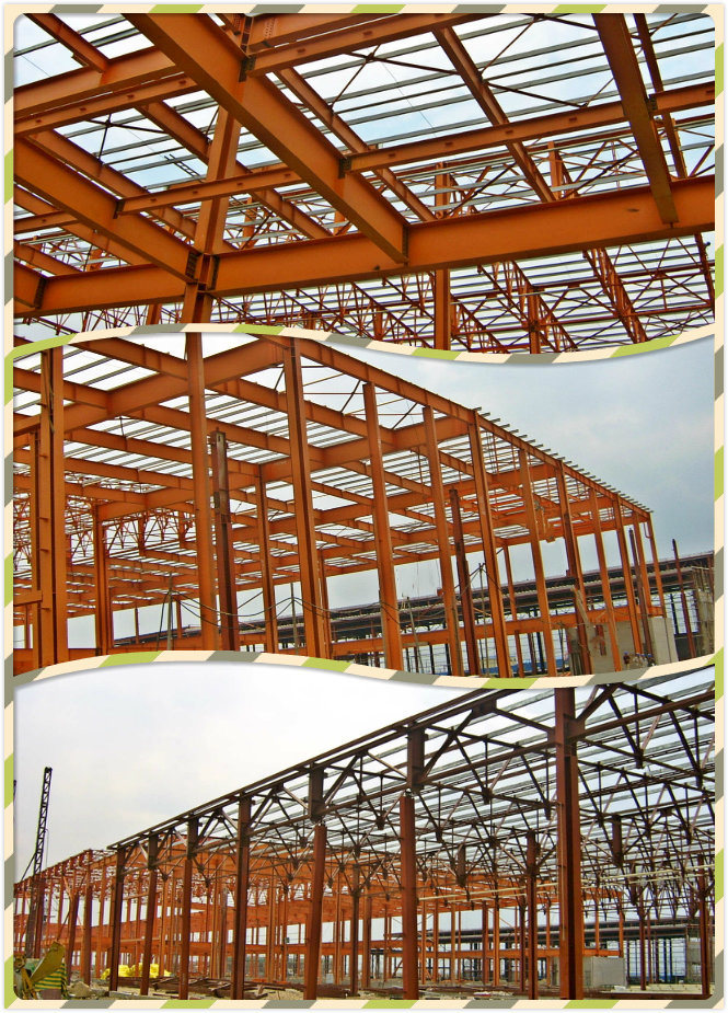 Steel Structure Workshop Including Wall and Roof Steel