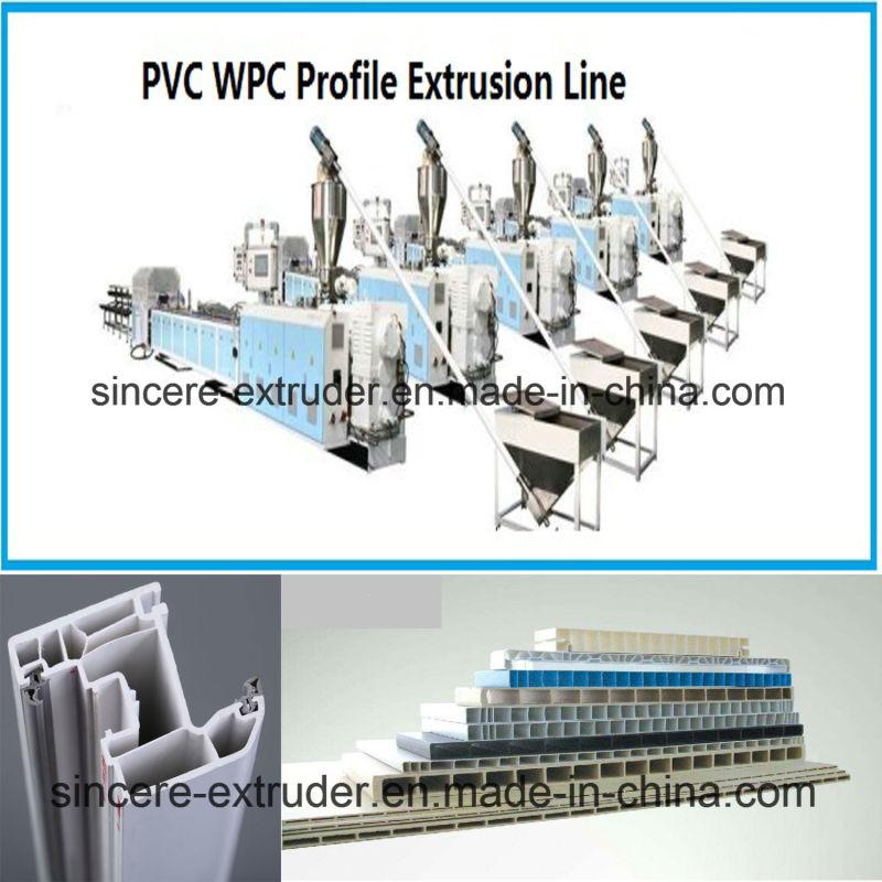 PVC Window Profile PVC Panel Production Line Machine