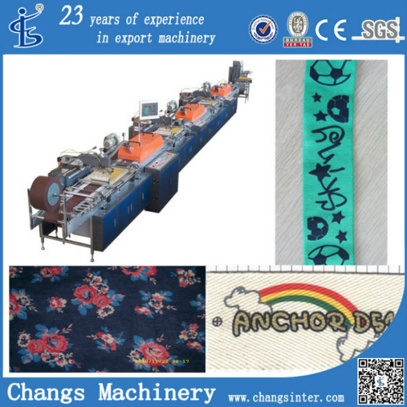 Spr Series Label Ribbon Fabric Imprinting Machine Equipment Manufacturers