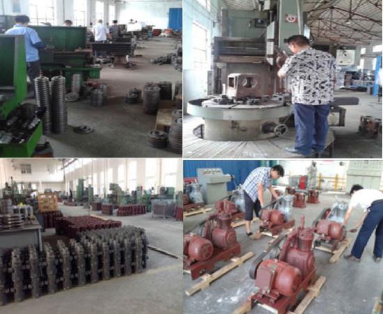 Marine Vertical Low Pressure Belt Unit Air Compressor