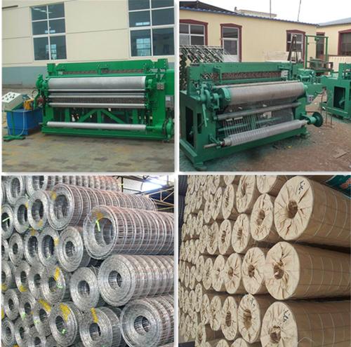 China Factory Galvanized Square Welded Mesh Panels
