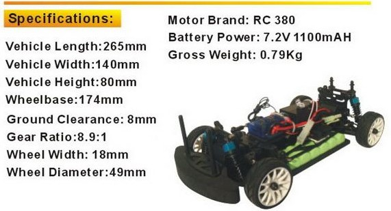 1: 18 RC Car Toys 3 Channel Remote Control Cars with Ce Certificate