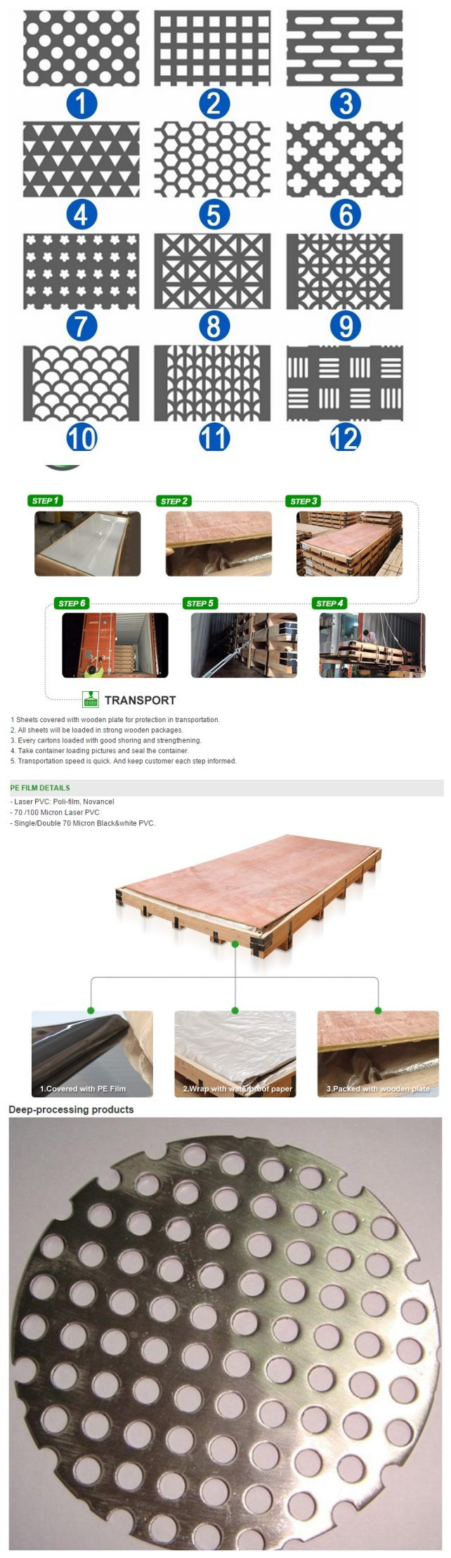 Manufacture Anti-Skid Plate of Walkway and Stairs