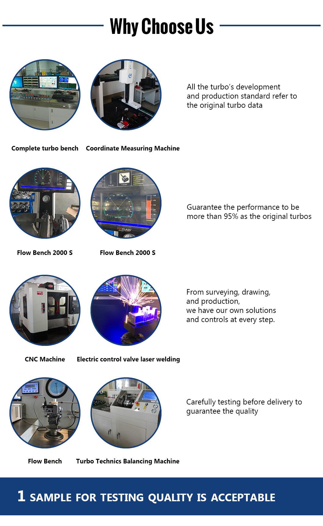 Turbocharger 4D56 Mitsubishi TF035hl2-12gk2-Vg 49135-02652 49s35-02652 4913502652 49s3502652 Mr968080