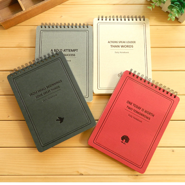School Notebook / Student Exercise Notebook B5 / Paper Spiral Notebook