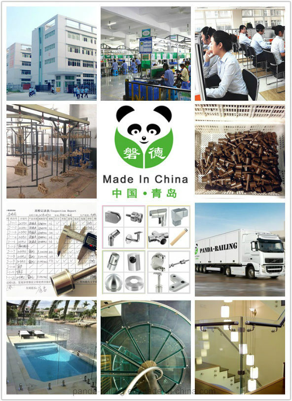 Stainless Steel Wood Fitting / Adapter for Wooden Handrail / Balustrade Fitting/End Cap