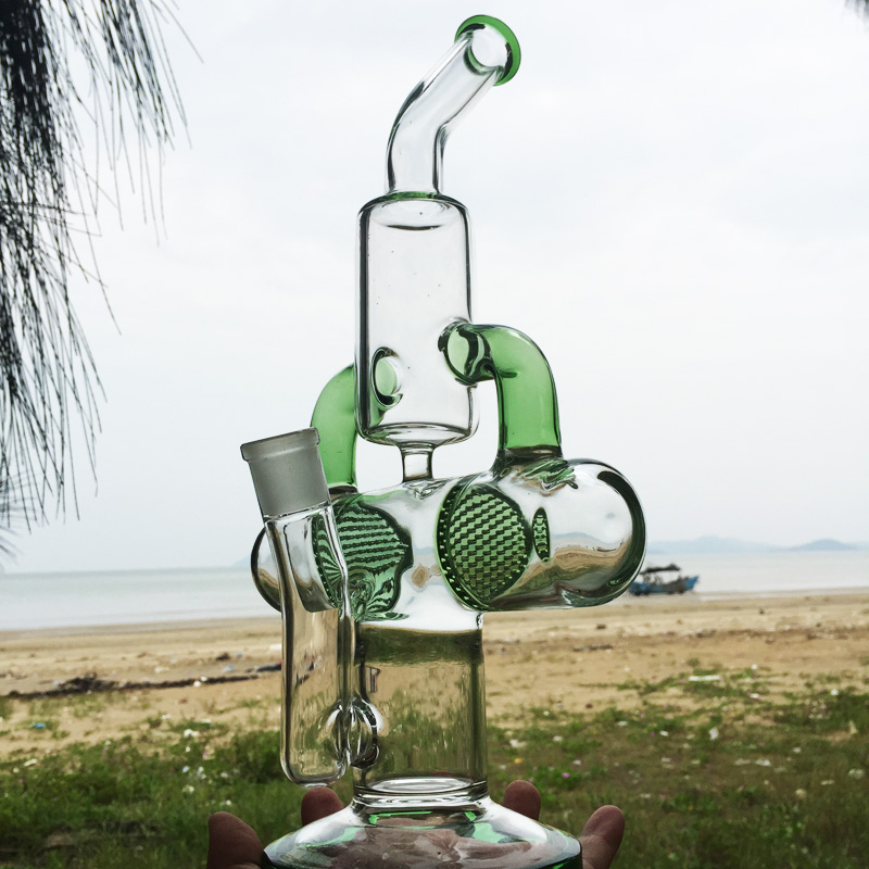 Earth Explorer Newest Design Glass Water Smoking Pipes (ES-GB-285)