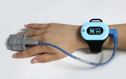 OLED Pulse Finger Fingertip Oximeter