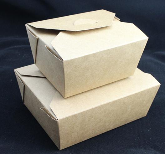 Food Grade Brown Kraft Paper Salad Box Sushi Box Noodle Box