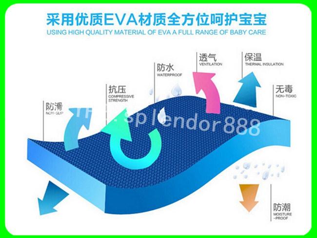 EVA Material High Density EVA Foam Puzzle Floor Mat