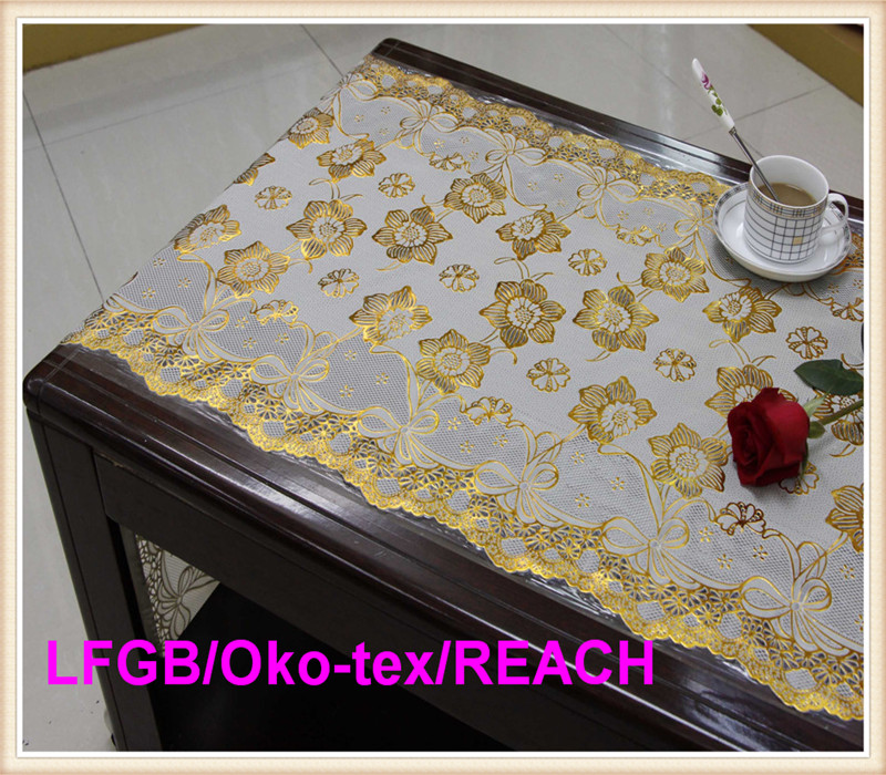 PVC Fine Long Lace 50cm*20m Tablecloth with Best Price