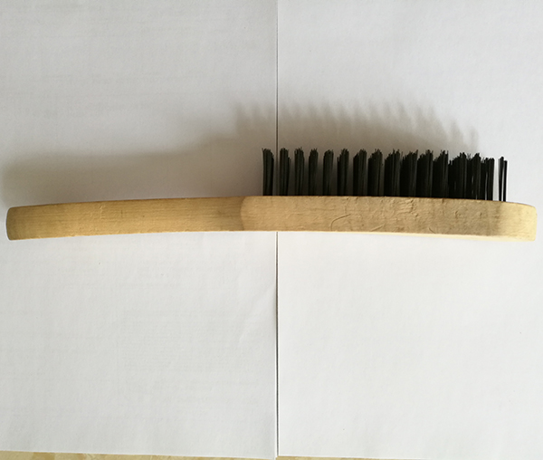 5X16 Row Steel Wire Wooden Handle Brush (YY-640)