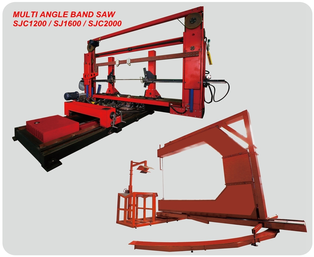 Sjc1000 Bandsaw for Cutting Plastic Pipe