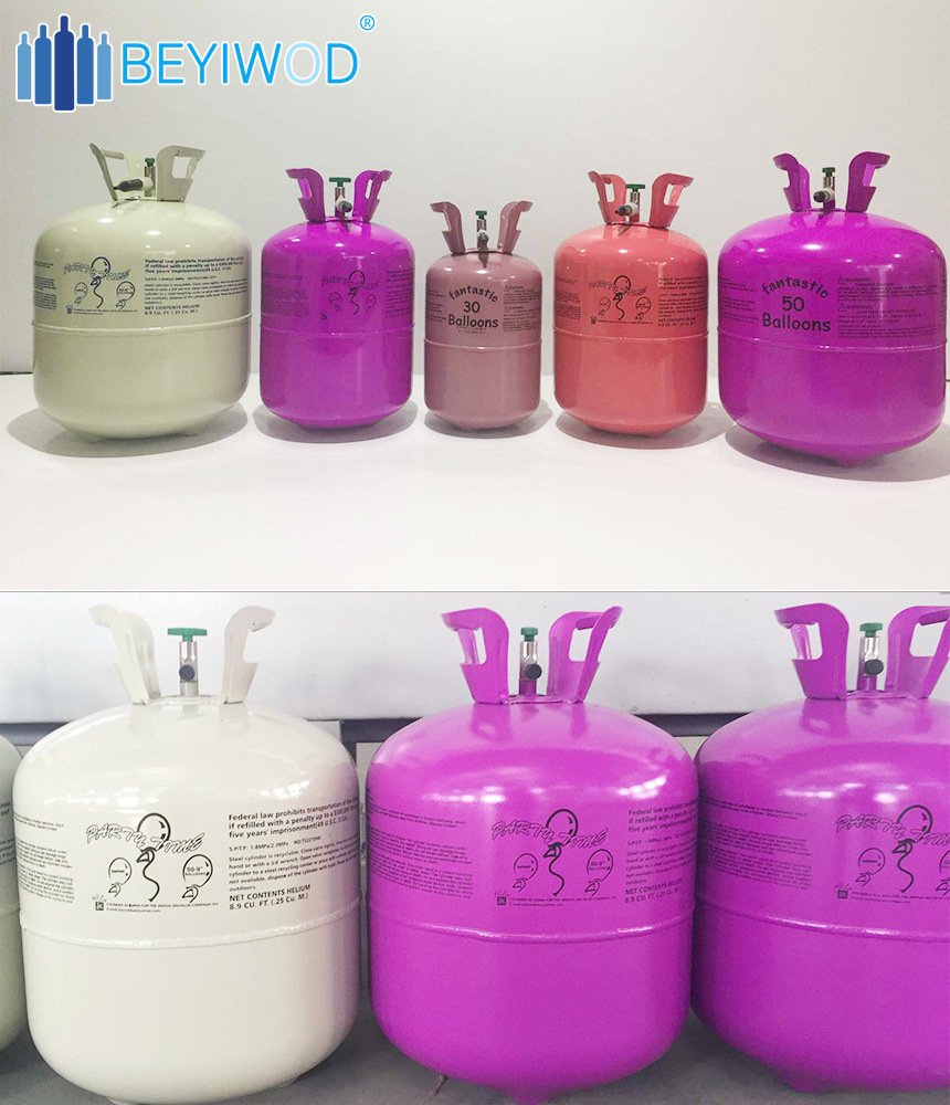 Low Pressure Balloon Tank Helium Gas Tank/Cylinder for Balloon