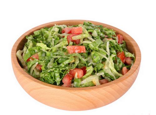 Beech Tableware Wooden Salad Bowl Household Kitchen