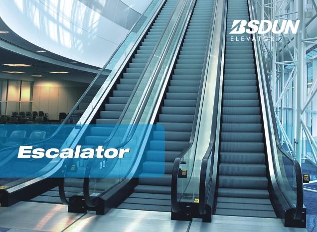 Slim Type Passenger Escalator