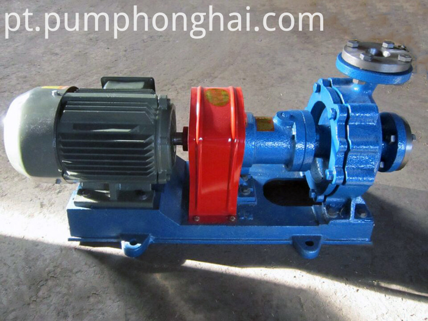 Cast steeel material pump with air-cooling equipment