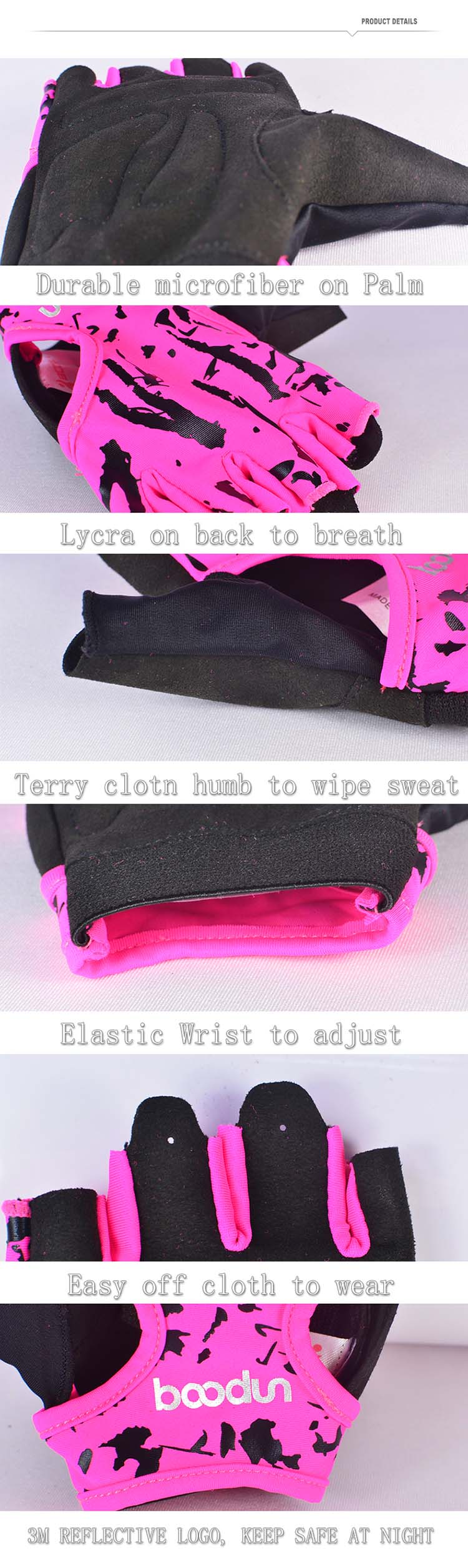 Weight Lifting Glove Type Breathable Custom Gym Gloves