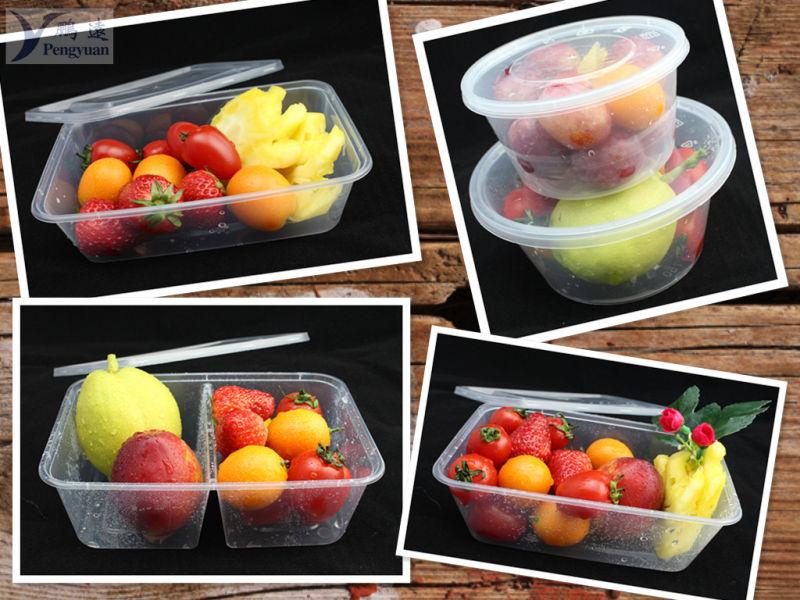 Heat Resistant Microwave Plastic Food Storage Container