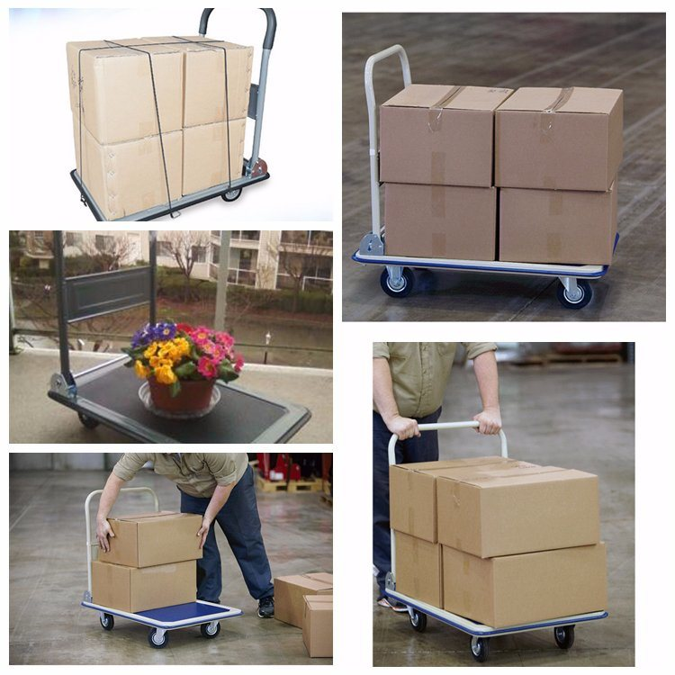 Heavy Goods Moving Warehouse Large Platform Hand Truck
