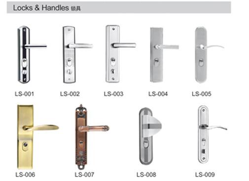 Popular Simple Classical Design Steel Security Door