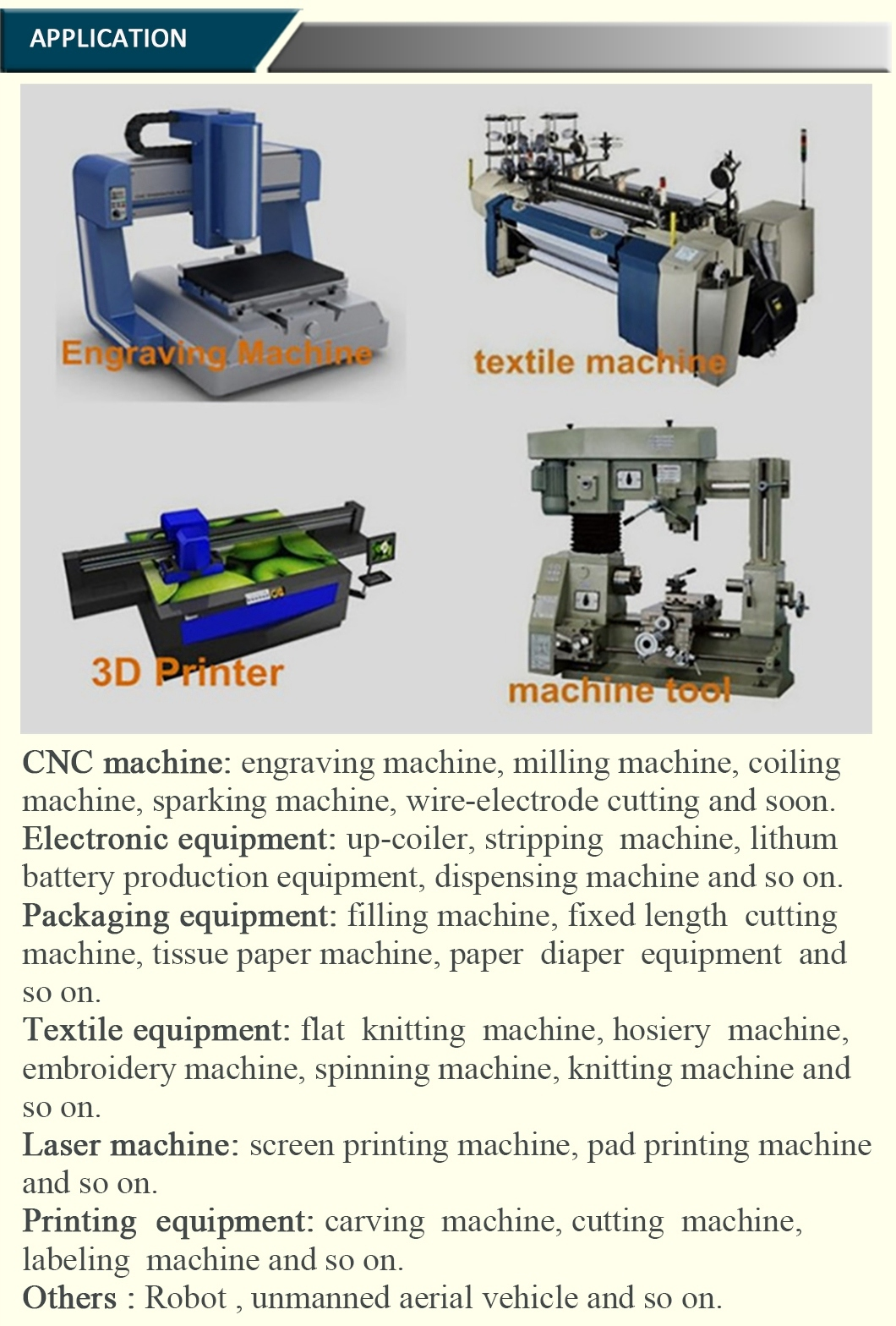 Electric Stepper/Stepping Motor with Driver for CNC Medical Machines