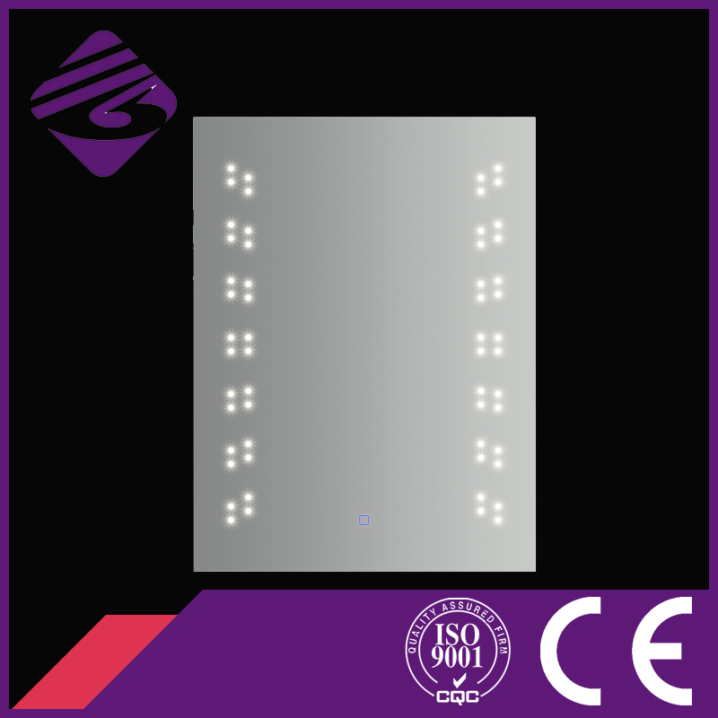 Jnh174 Newest Design Clear Bath Mirror with LED DOT