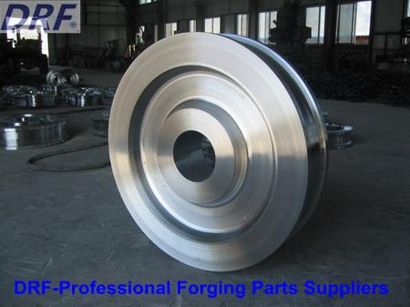 42CrMo Steel Car Wheel (DRF005)