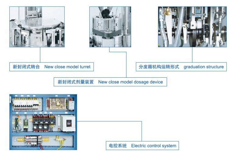 (NJP-200/400/800) Automatic Capsule Filling Machine