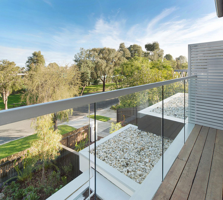Balustrade Deck Railing Glass