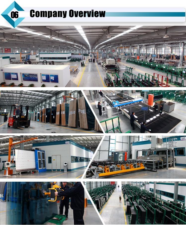 Insulated window glass factory