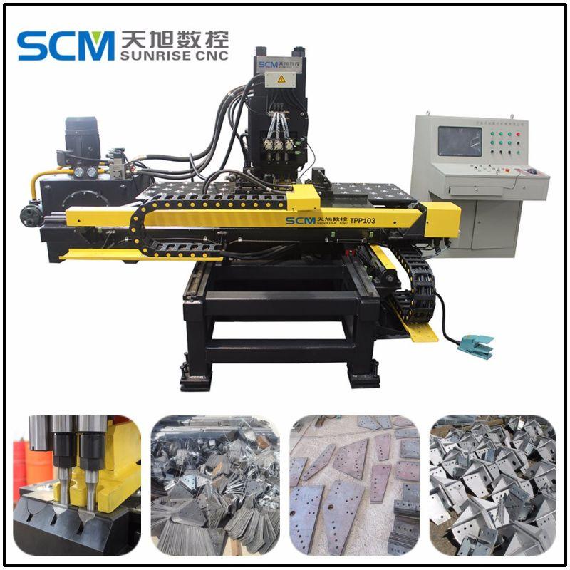Tpp103 Китай производитель пробивной машины с ЧПУ для стальных пластин