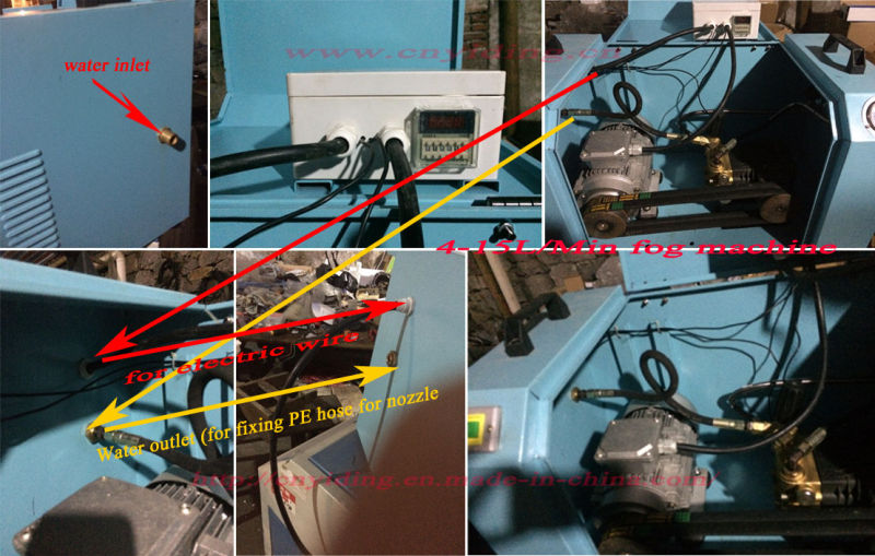 15L/Min Industry Duty Misting Cooling Systems (YDM-0715B)