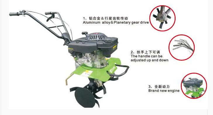 Wy400A Power Tiller