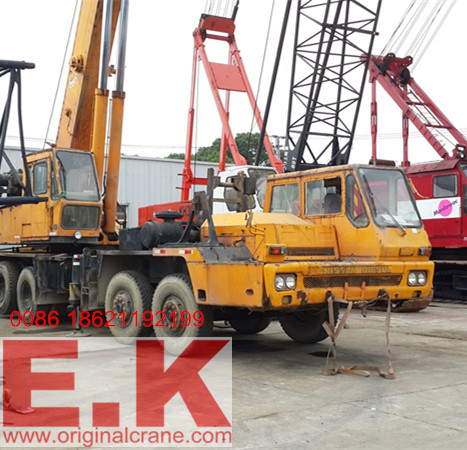 Hydraulic Crane Japanese Tadano Truck Crane (TG500E)