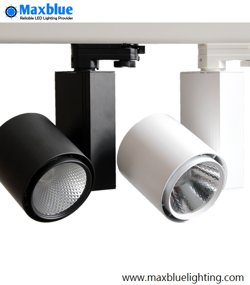 Dimmable Commercial Lighting CREE COB LED Track Lighting