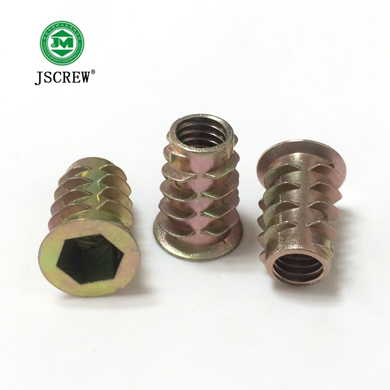 Furniture Insert Nuts for Wood Manufacturer
