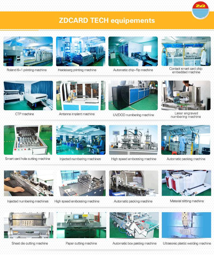 Printing Plastic PVC Greeting VIP Gift Card