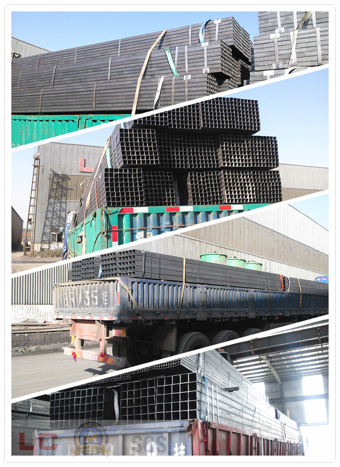 Black Steel Tube Pipe Galvanized