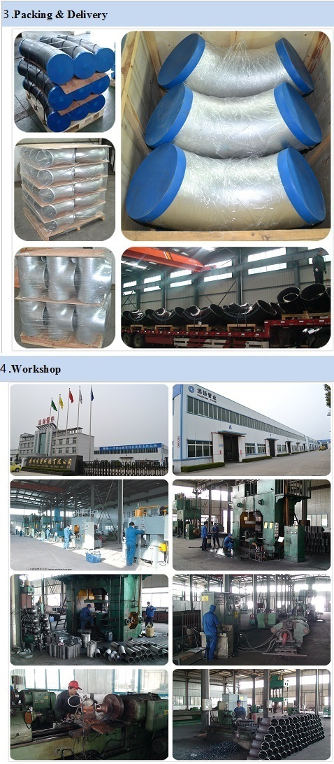 ASTM A234 Wpb Welded Carbon Steel Elbow