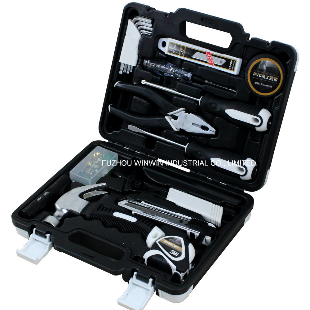 46PCS Hand Tool Set with Screwdriver, Plier, Hammer and Others (WW-TS046)