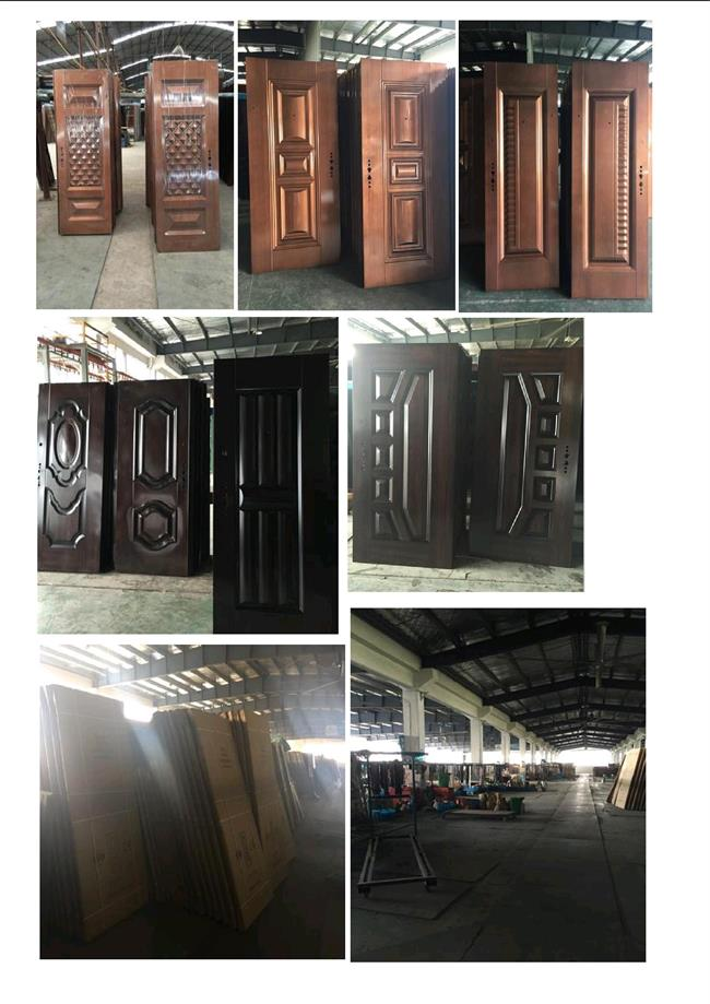 Hot Sale Economy Steel Door (RA-S092)