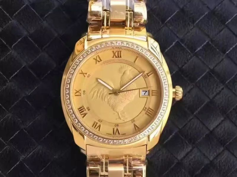 Gold Watch of Customized Chicken Rooster Watch
