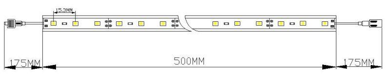 SMD2835 Outdoor LED Display LED Rigid Strip